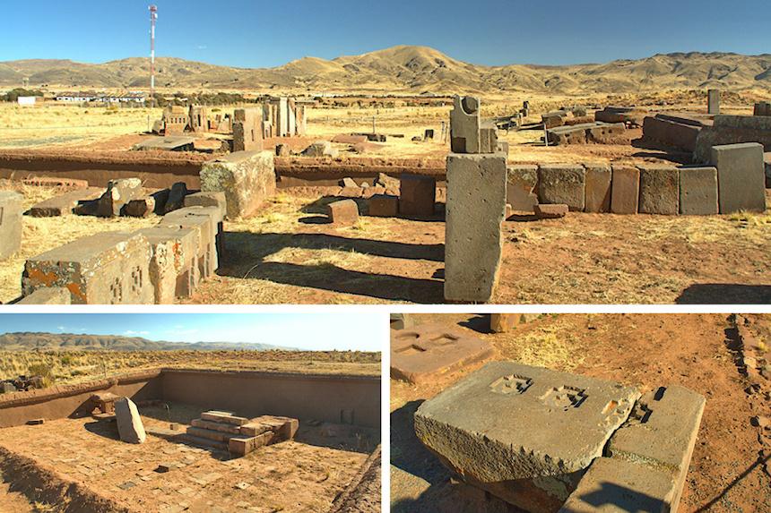 Pumapunku en Tiwanaku