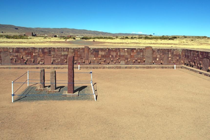 Templo semi-subterráneo o Templo de los rostros