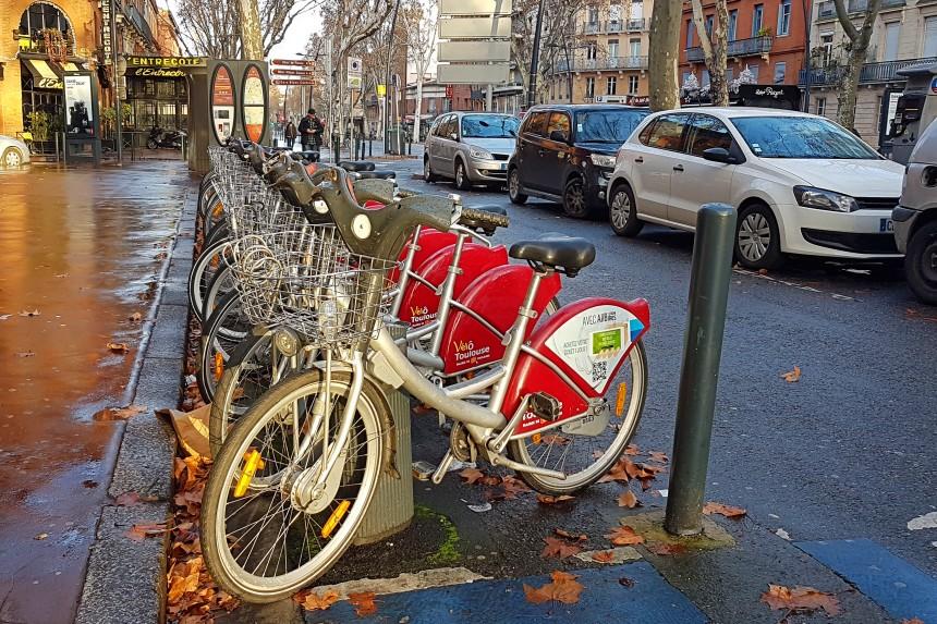 bicicletas de alquiler en Toulouse