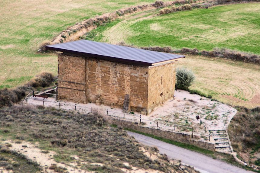 Ermita de la Virgen de las Mueras en Bolea