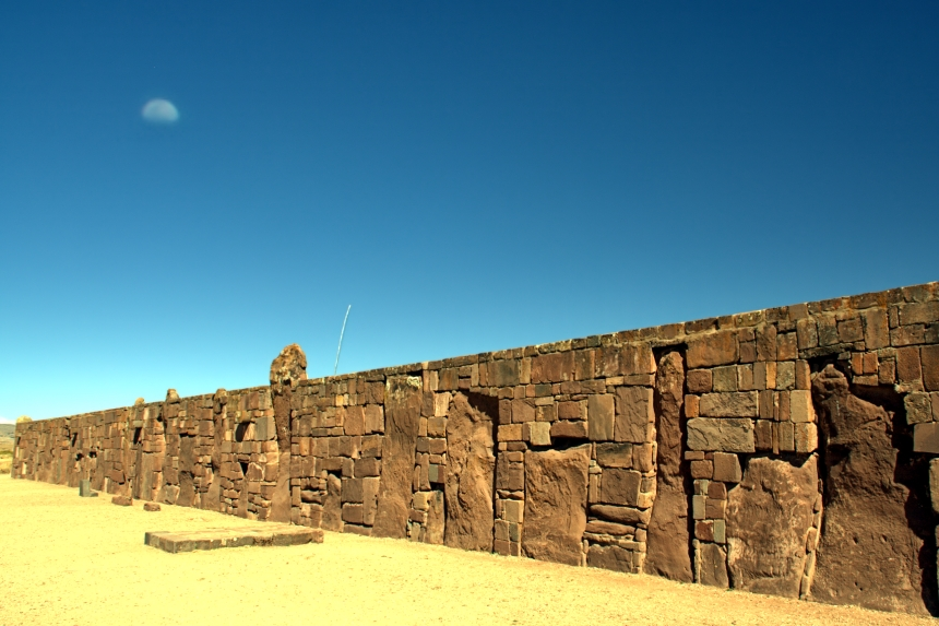 Muro exterior del Kalasasaya