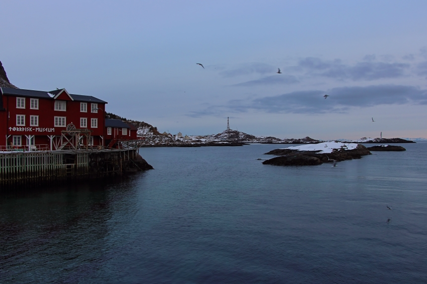 A en las islas Lofoten