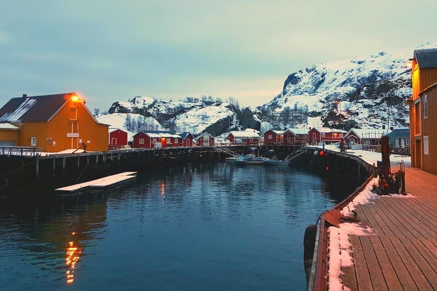 Nusfjord en las islas Lofoten