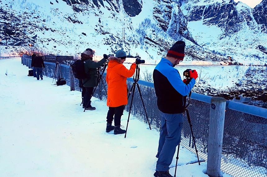 Reina el pueblo más fotografiado de Noruega