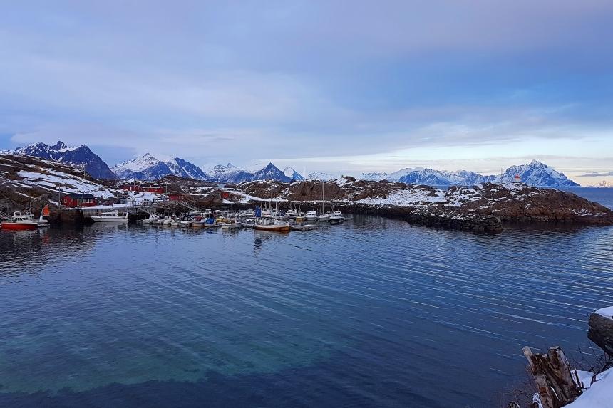 Pueblo de Stamsunden Lofoten