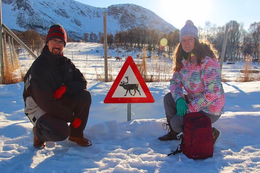 hasta pronto mapaymochila Noruega Ártica