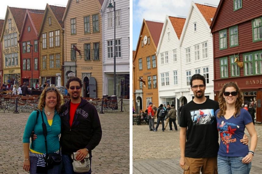 mapaymochila en Bergen antes y después