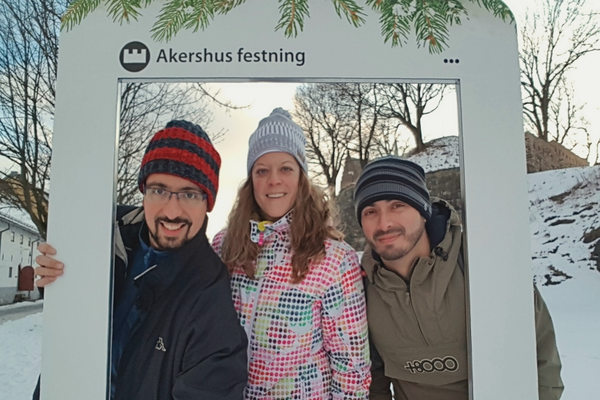 mapaymochila y dondetemetes en Oslo