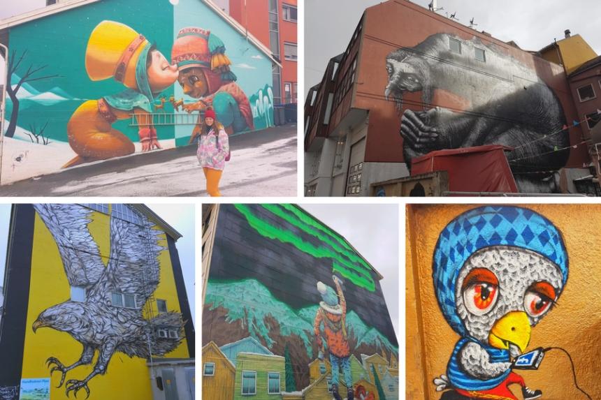 murales de Bodø