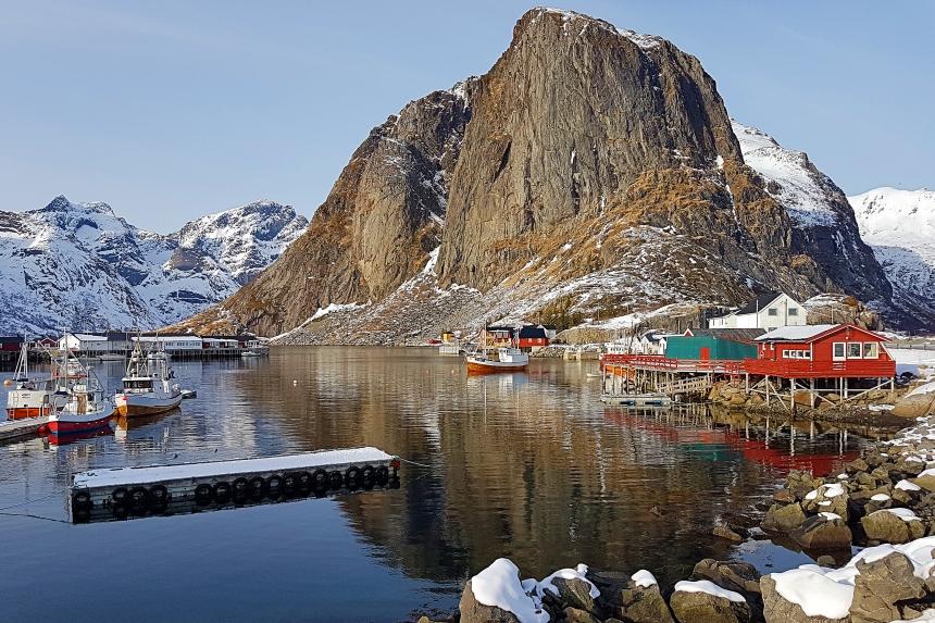 Hamnøy, un pueblo pesquero de las islas Lofoten