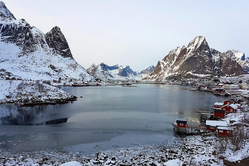Reine en islas Lofoten