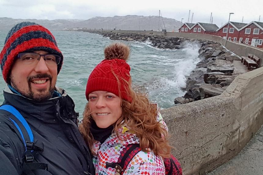 ventisca en Bodø