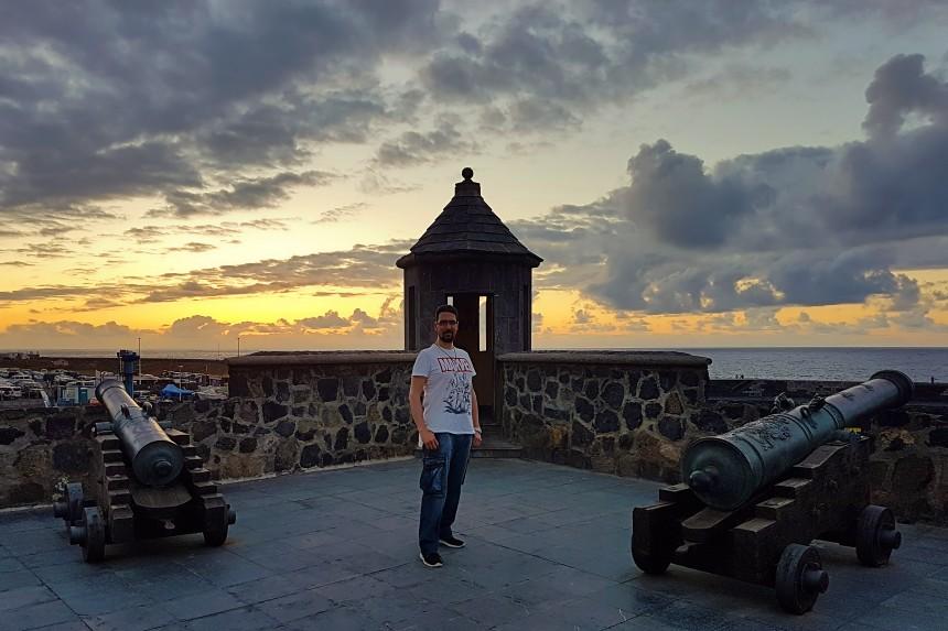 Batería de Santa Bárbara en Puerto de la Cruz