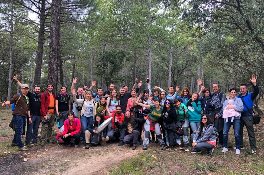 IV aniversario de MadridTB en la Sierra Norte de Madrid