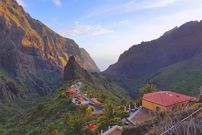 Masca el Machu Picchu de Tenerife