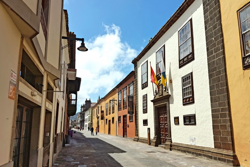 calles de La Laguna