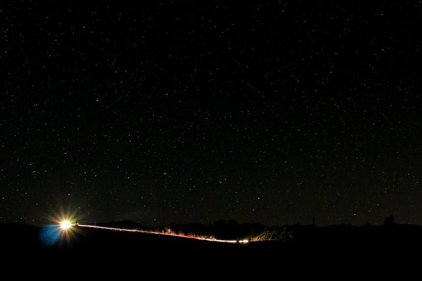 Estrellas en el Parque Nacional del Teide