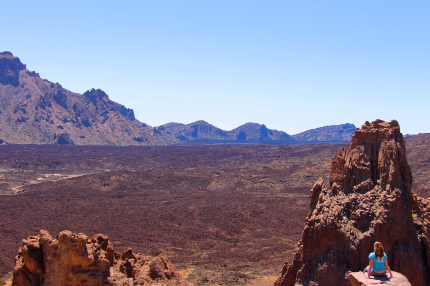 ruta de los Roques en el Teide