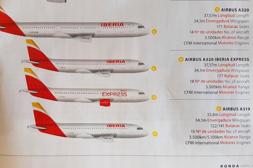 Plazas airbus A320