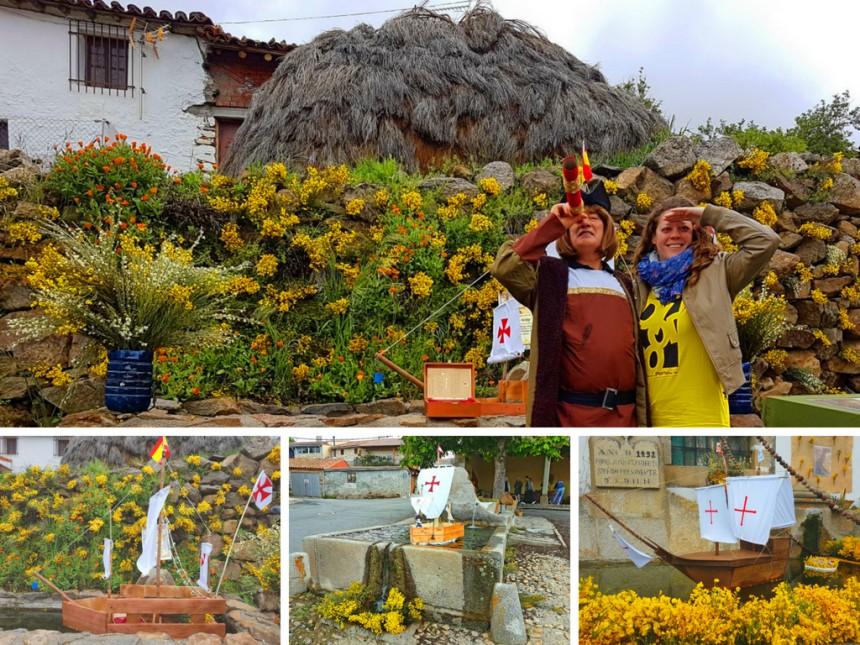 San Juan de Gredos en el festival de los Piornos en flor