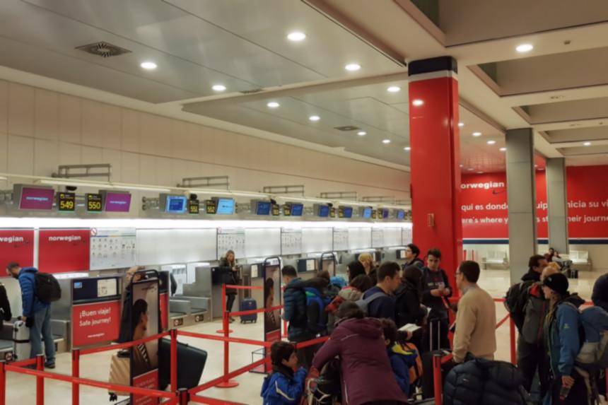facturación aeropuerto