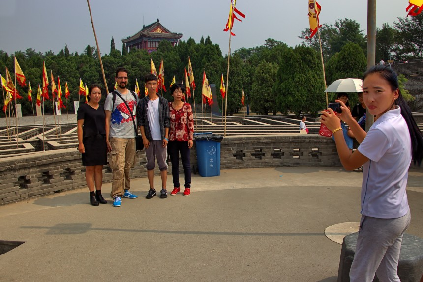 Un fotógrafo fotografiado en China
