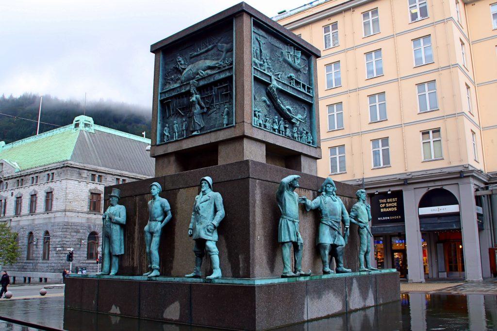 Monumento a los marineros de Bergen
