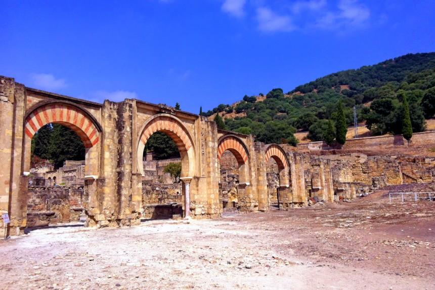El Gran Pórtico de entrada a Medina Azahara