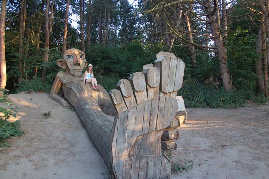 gigantes olvidados de Copenhague, Thomas en la montaña