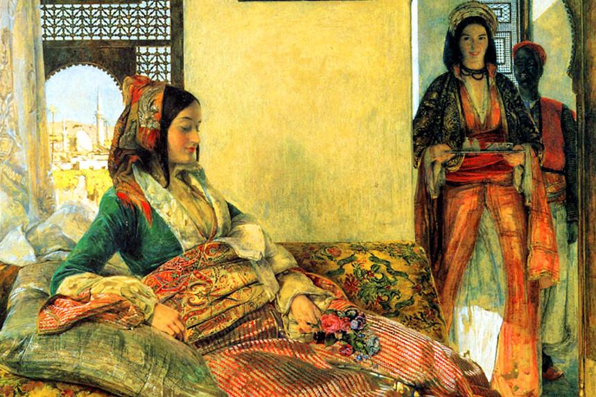 noches árabes de John Frederick Lewis