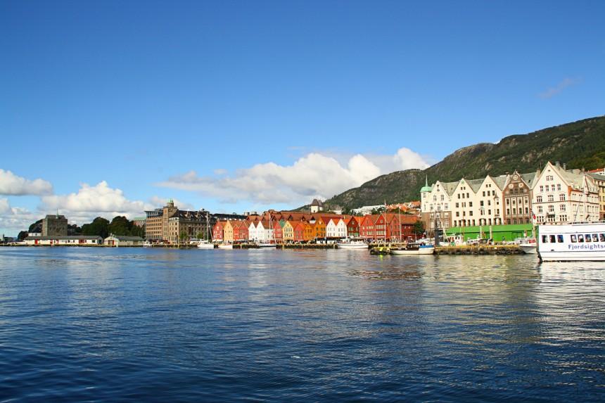 vistas de Bryggen