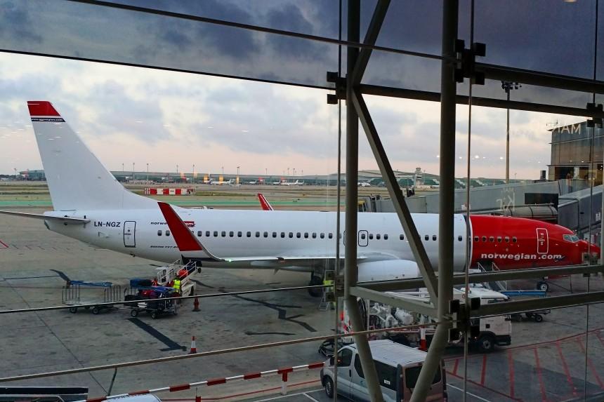 vuelo de Bergen a Madrid