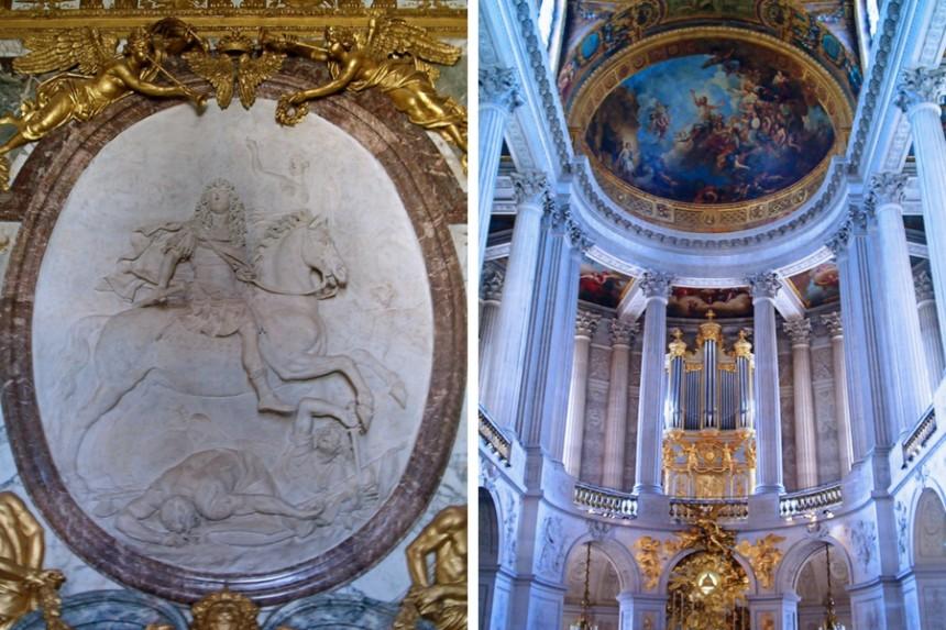 decoración de Versalles