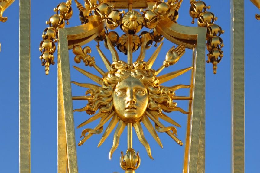 detalle de las puertas del Palacio de Versalles