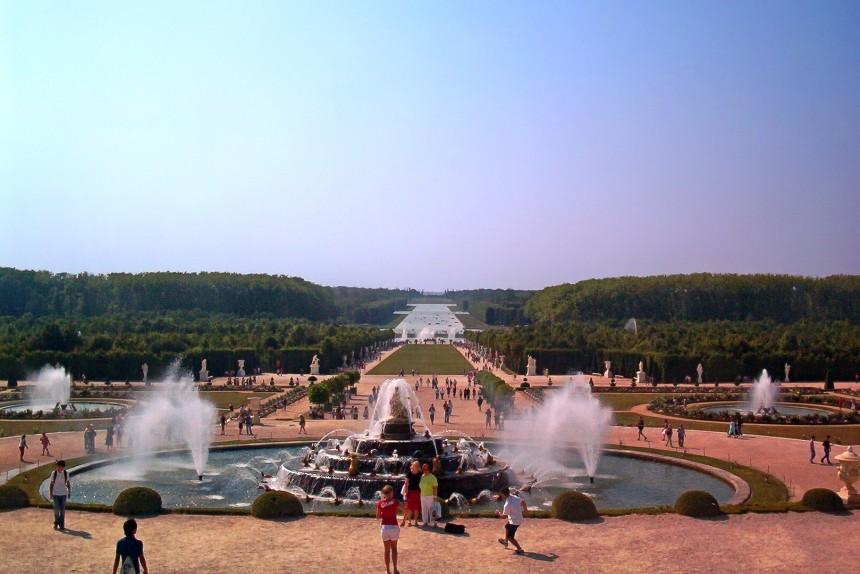 estanque de Latona en Versalles