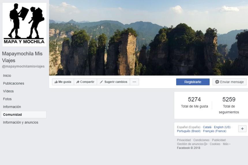 facebook de mapaymochilamisviajes