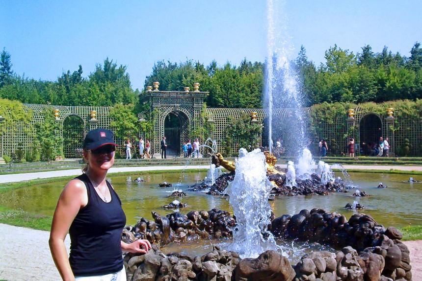 Fuente de Encélado en Versalles