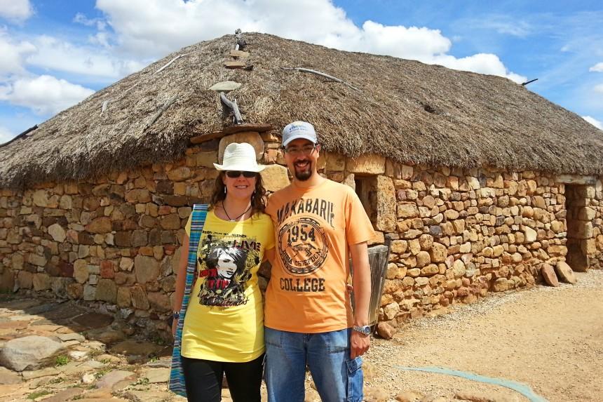 mapaymochila en el Yacimiento de Numancia