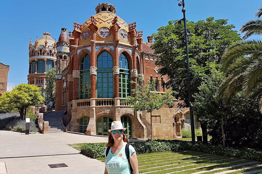 Pabellones y jardín del Recinto Modernista Sant Pau