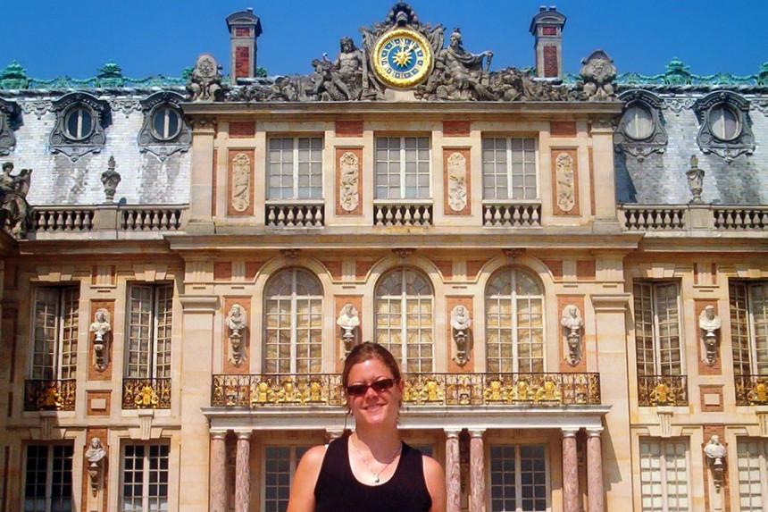 patio de honor del Palacio de Versalles