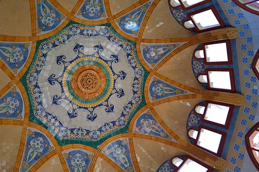 techo de la sala de día