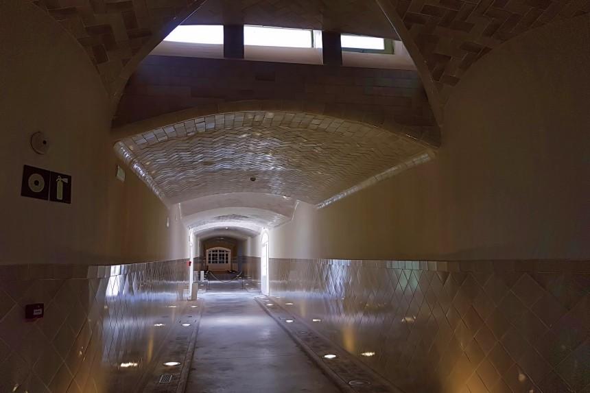 Túneles del Recinto Modernista Sant Pau