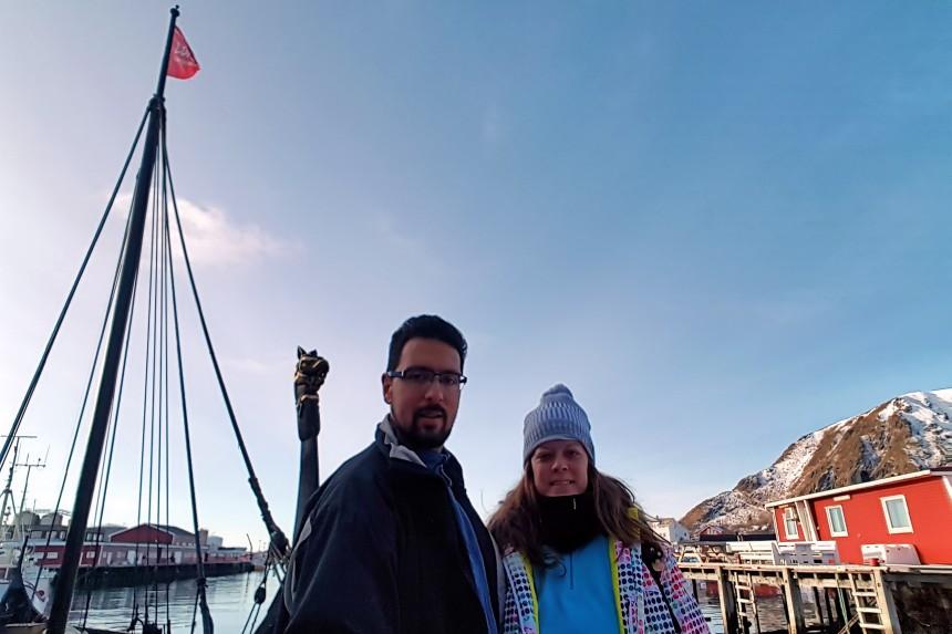 Barco del Museo Vikingo Lofotr