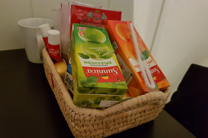 desayuno en alojamiento de Reine