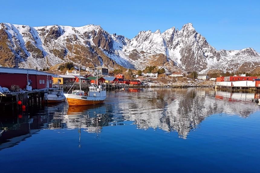 rorbuer de pescadores en Noruega