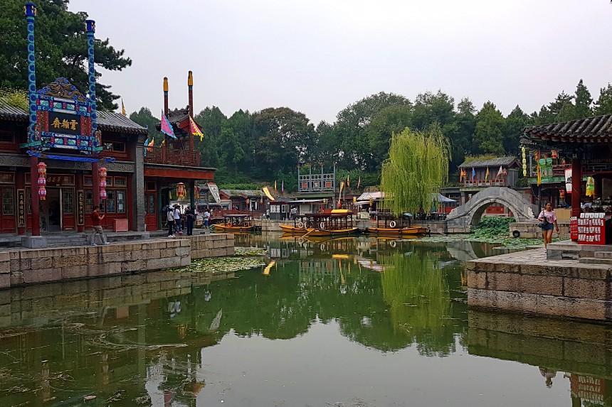 Calle Suzhou en el Palacio de Verano