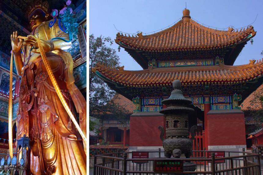 templo de los Lamas en Pekín