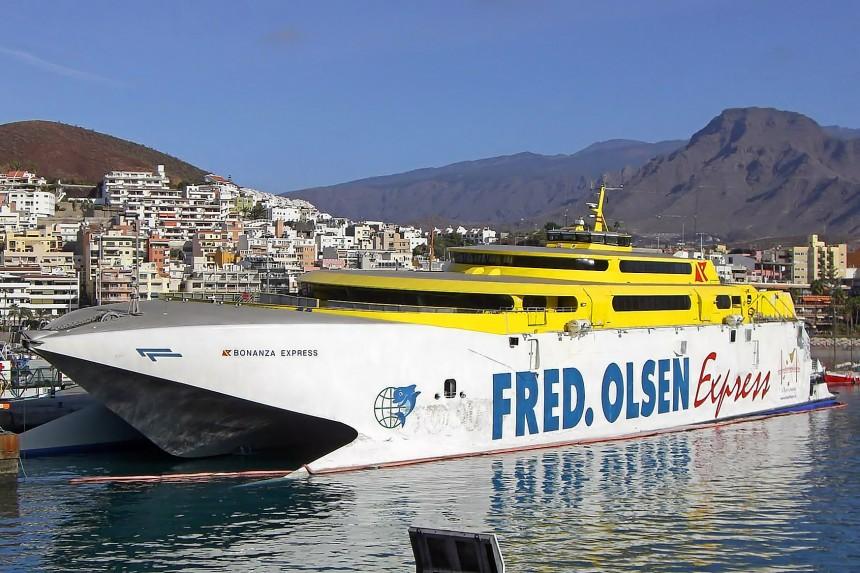 ferry islas Canarias