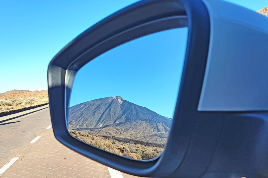 reflejo de El Teide