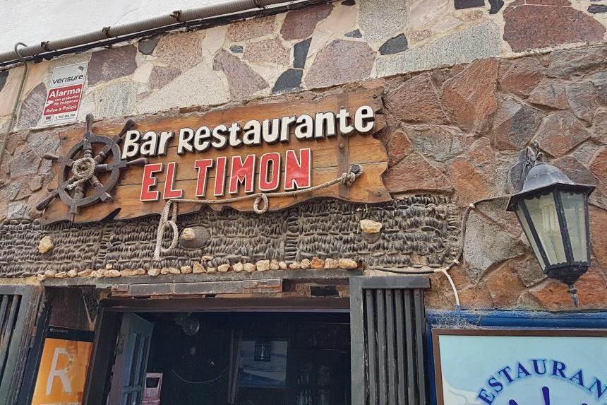 restaurante el Timon en el Médano